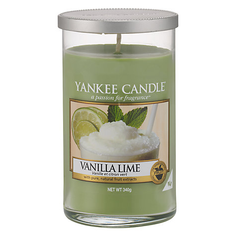 Buy Yankee Candle Vanilla and Lime Scented Candle, Medium Online at johnlewis.com