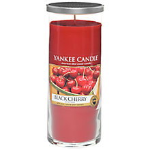Buy Yankee Candle Black Cherry Scented Candle, Large Online at johnlewis.com