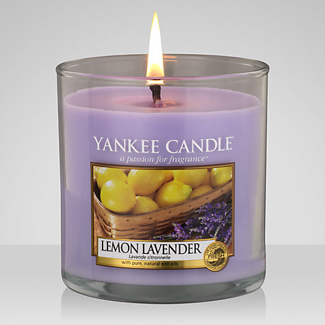 Buy Yankee Candle Lemon and Lavender Scented Candle, Small Online at johnlewis.com