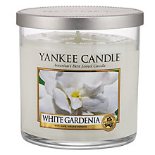 Buy Yankee White Gardenia Scented Candle, Small Online at johnlewis.com