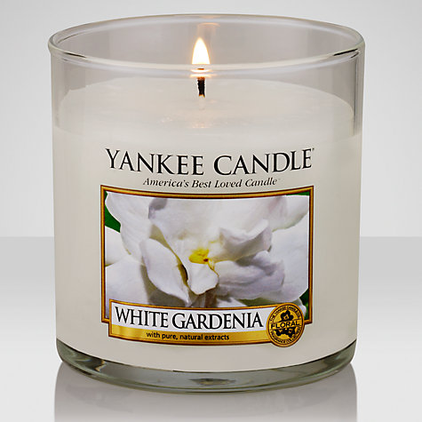 Buy Yankee Candle White Gardenia Scented Candle, Small Online at johnlewis.com