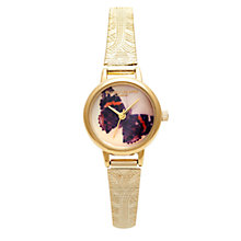 Buy Olivia Burton Women's Woodland Animal Mesh Strap Watch Online at johnlewis.com