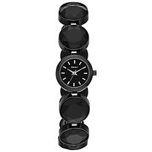 Buy DKNY NY2125 Women's Black Crystal Stainless Steel Bracelet Watch Online at johnlewis.com