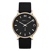 Buy Marc by Marc Jacobs Women's Baker Leather Strap Watch Online at johnlewis.com