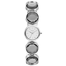 Buy DKNY NY2123 Women's White Crystal Stainless Steel Bracelet Watch Online at johnlewis.com