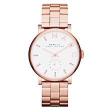 Buy Marc Jacobs Women's Baker Stainless Steel Bracelet Strap Watch Online at johnlewis.com