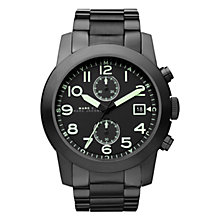Buy Marc by Marc Jacobs Men's Larry Steel Strap Chronograph Watch Online at johnlewis.com