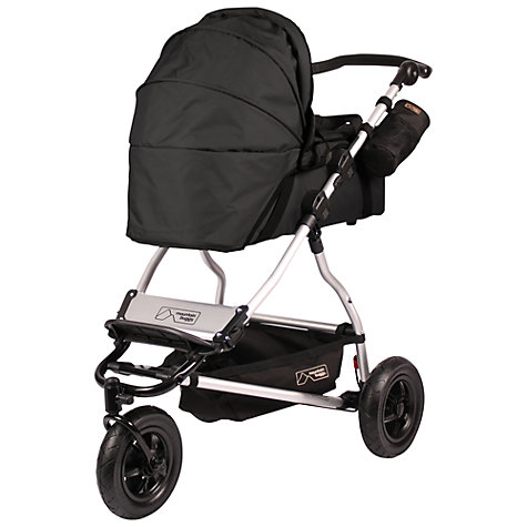 Buy Mountain Buggy Swift Carrycot, Black Online at johnlewis.com