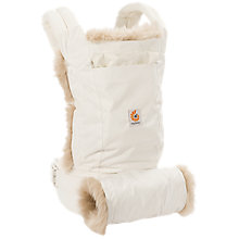 Buy Ergobaby Winter Edition Baby Carrier, White Online at johnlewis.com