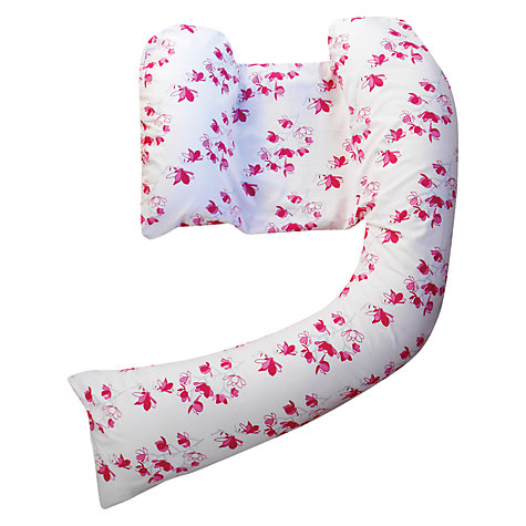 Buy Dreamgenii Nursing Pillow Cover, Pink Flowers Online at johnlewis.com
