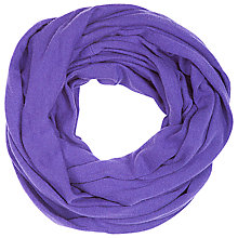 Buy Betty Barclay Knitted Snood, Ultra Violet Online at johnlewis.com