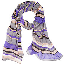 Buy Betty Barclay Striped Scarf, Multi Online at johnlewis.com