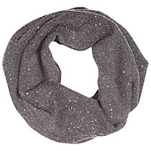 Buy Betty Barclay Knitted Sparkle Snood, Mid Grey Melange Online at johnlewis.com