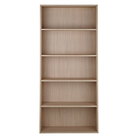 Buy John Lewis The Basics Dexter Tall, Wide Bookcase Online at johnlewis.com