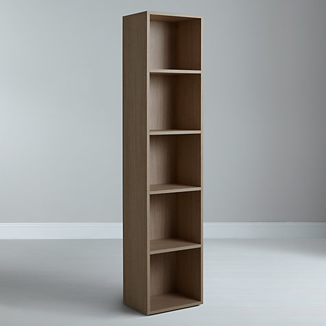 Buy John Lewis The Basics Dexter Tall, Narrow Bookcase Online at johnlewis.com