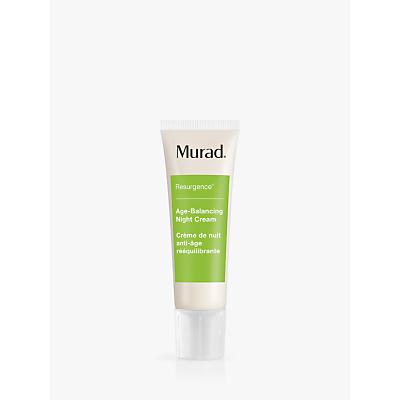 shop for Murad Age Balancing Night Cream, 50ml at Shopo