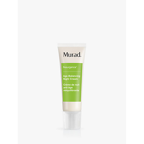 Buy Murad Age Balancing Night Cream, 50ml Online at johnlewis.com