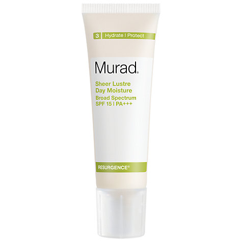 Buy Murad Sheer Lustre Day Moisture Broad Spectrum SPF 15 PA+++, 50ml Online at johnlewis.com