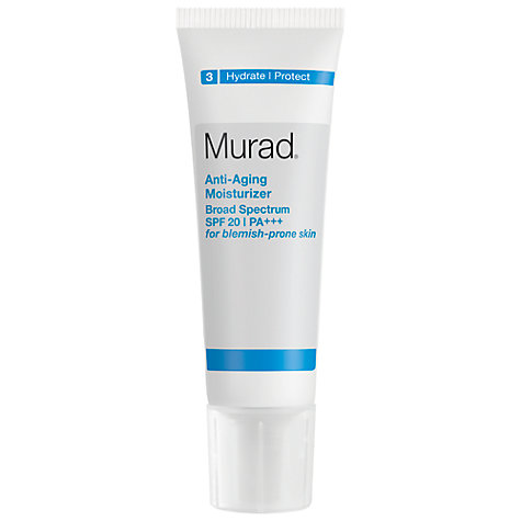 Buy Murad Anti-Ageing Moisturiser Broad Spectrum SPF 20 PA+++ Online at johnlewis.com