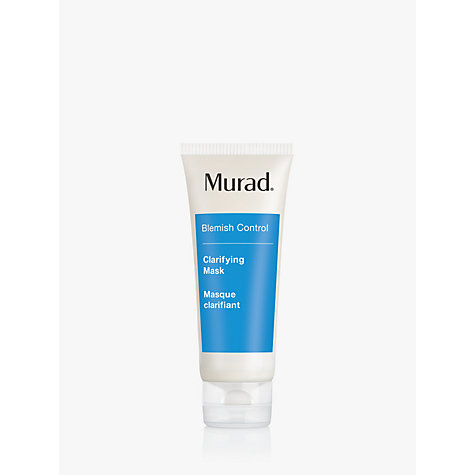 Buy Murad Acne Clarifying Mask, 75ml Online at johnlewis.com