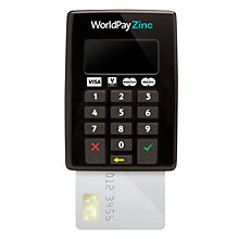 Buy WorldPay Zinc Chip & PIN Keypad with FREE Worldpay Zinc Carry Case Online at johnlewis.com