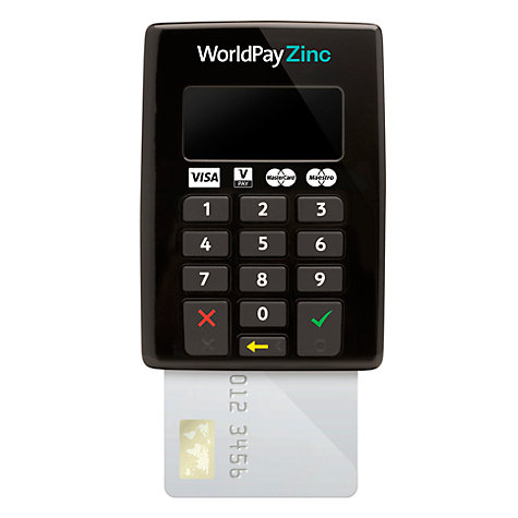 Buy Worldpay Zinc Chip & PIN Keypad Online at johnlewis.com