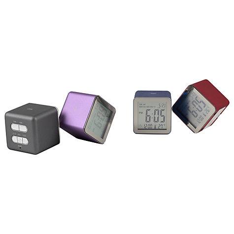 Buy Lexon Cube Sensor Alarm Clock Online at johnlewis.com