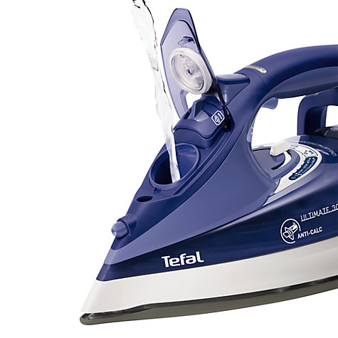 Buy Tefal Ultimate FV9630 Steam Iron Online at johnlewis.com