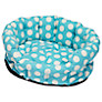 Cath Kidston Big Spot Pet Bed, Turquoise