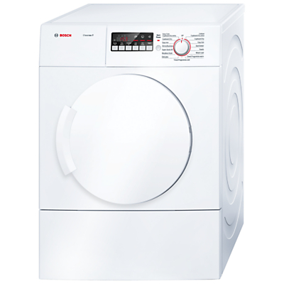 Bosch Classixx WTA74200GB Sensor Vented Tumble Dryer, 7kg Load, C Energy Rating, White