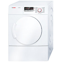 Buy Bosch Classixx WTA74200GB Sensor Vented Tumble Dryer, 7kg Load, C Energy Rating, White Online at johnlewis.com