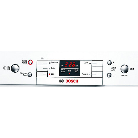 Buy Bosch SMS58T12GB Dishwasher, White Online at johnlewis.com