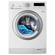 Buy Electrolux EWW1697MDW Washer Dryer, 9kg Wash/7kg Dry Load, A Energy Rating, 1600rpm Spin, White Online at johnlewis.com