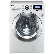 Buy LG F1495BDA Washing Machine, 12kg Load, A+++ Energy Rating, 1400rpm Spin, White Online at johnlewis.com