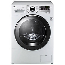 Buy LG F14A8QDSA TrueSteam™ Washing Machine, 7kg Load, A+++ Energy Rating, 1400rpm Spin, White Online at johnlewis.com