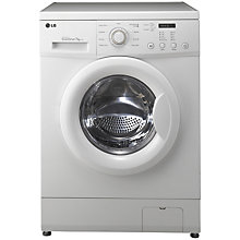 Buy LG F12C3QD Washing Machine, 7kg Load, A++ Energy Rating, 1200rpm Spin, White Online at johnlewis.com