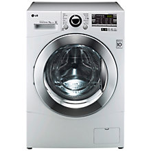 Buy LG F14A8TDA Washing Machine, 8kg Load, A+++ Energy Rating, 1400rpm Spin, White Online at johnlewis.com