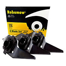 Buy Robomow MRK0003A 3 Low Cutting Blades Lawnmower Accessory Online at johnlewis.com
