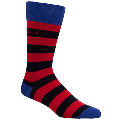 Buy Gant Contrast Stripe Socks, One Size Online at johnlewis.com