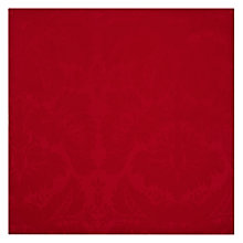 Buy John Lewis Damask Napkins, Red, Set of 4 Online at johnlewis.com