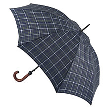 Buy Fulton Hunstman Tartan Umbrella, Navy/Multi Online at johnlewis.com