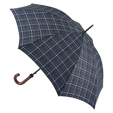 Buy Fulton Hunstman Tartan Umbrella, Navy Multi Online at johnlewis.com