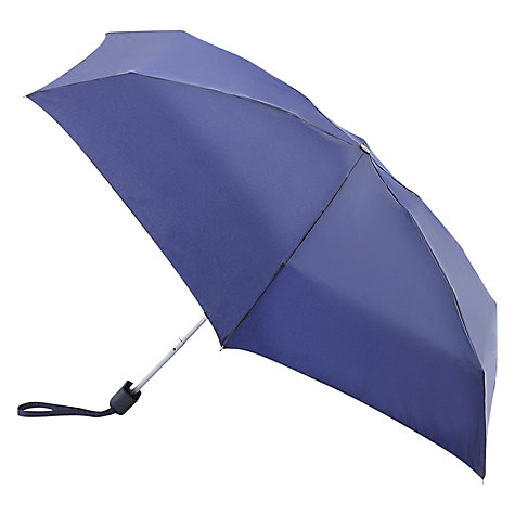 Buy Fulton Tiny 1 Folding Umbrella, Blue Online at johnlewis.com