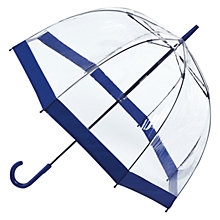 Buy Fulton Birdcage Domed Umbrella, Navy Online at johnlewis.com