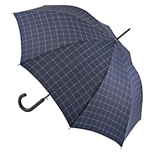 Buy Fulton Shoredith Umbrella, Navy Online at johnlewis.com