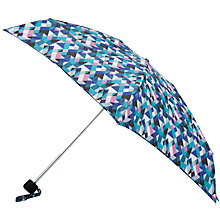 Buy John Lewis Graphic Print Mini Umbrella Online at johnlewis.com
