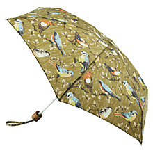 Buy Cath Kidston Bird Umbrella, Olive Multi Online at johnlewis.com