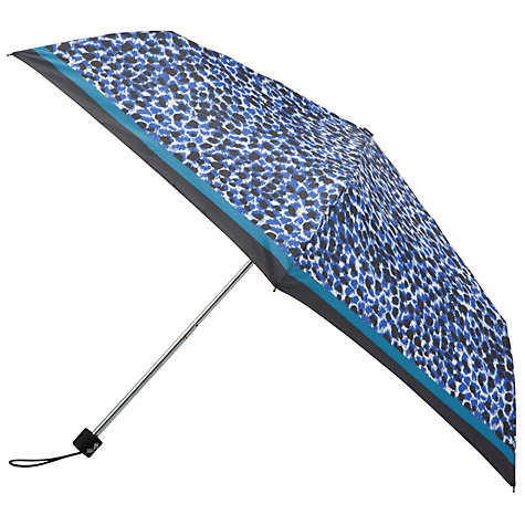 Buy John Lewis Leopard Print Mini Umbrella Online at johnlewis.com