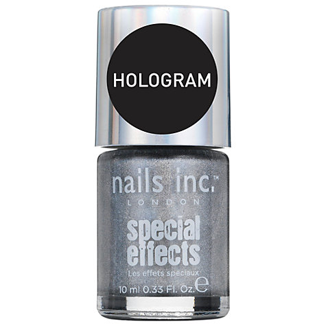 Buy Nails Inc Special Effects Hologram Top Coat, 10ml, Westbourne Park Online at johnlewis.com