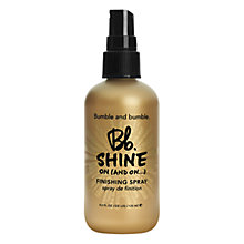 Buy Bumble and bumble Shine On Finishing Spray, 125ml Online at johnlewis.com
